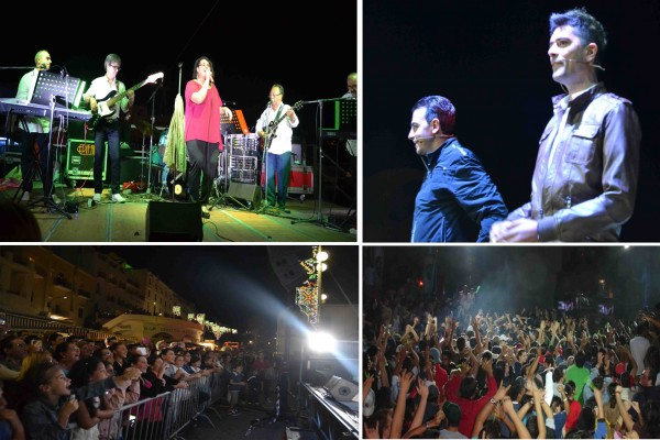 La musica dei Flashback live e il cabaret di Gigi e Ross divertono la Marina Grande di Capri