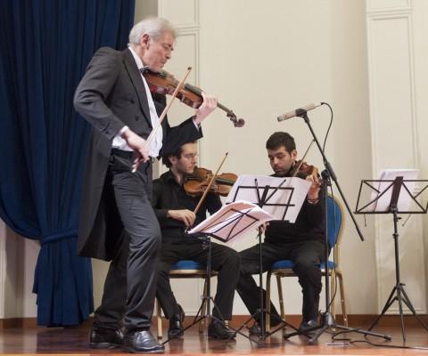 """""""Vismara Ensamble"""" I magici violini nel concerto """"Percorsi romantici di fine estate"""""""