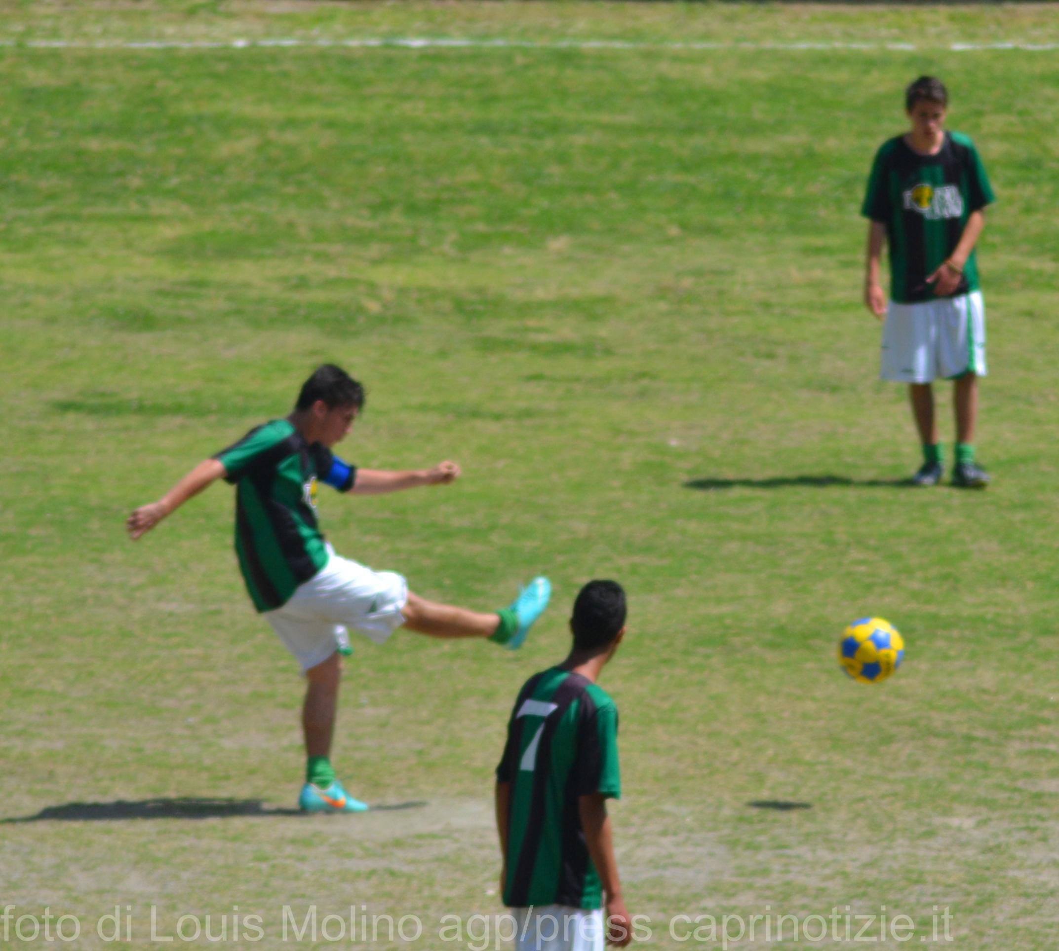 Calcio: La Juniores dell'Olimpia Capri perde in trasferta per 5-2 contro la Leonida Gragnano