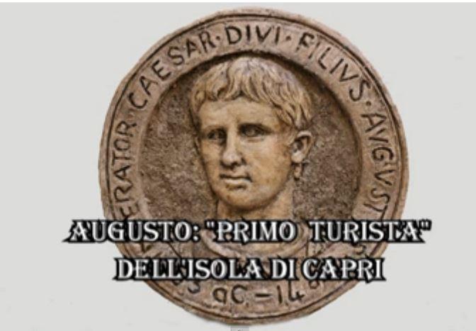 """Capri in tv: """"Augusto prima turista dell'isola di Capri""""  il documentario del sacerdote Don Vincenzo Simeoli"""