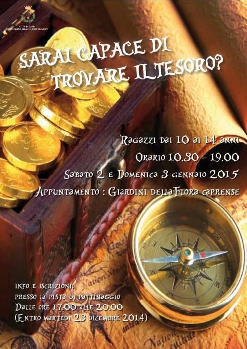 caccia al tesoro 2014