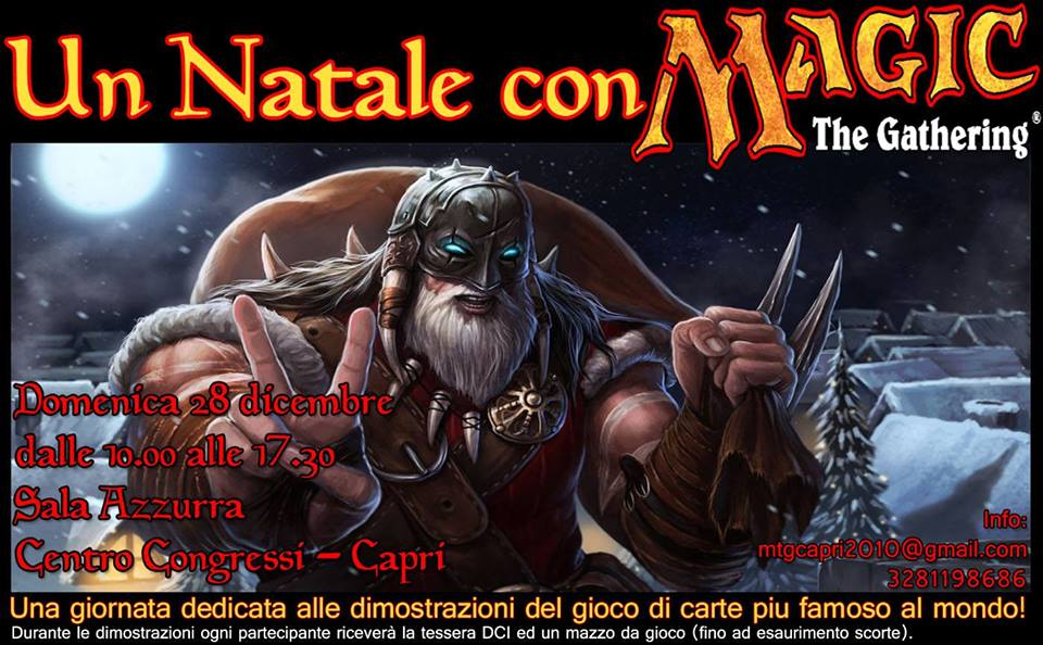 A Natale puoi entrare nel fantastico mondo di Magic: The Gathering