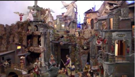 Capri: Il presepe del '700 esposto nella chiesa di San Costanzo  (VIDEO)