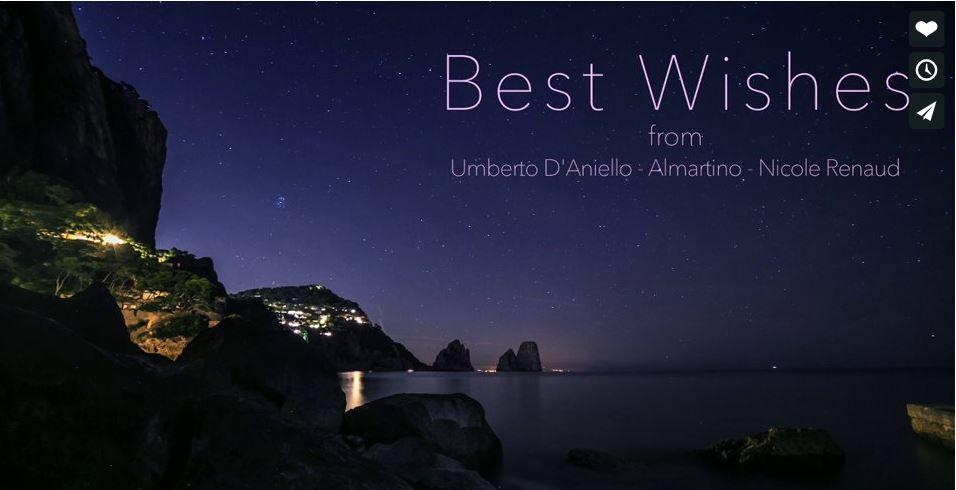 """""""Capri – Deep in the night""""  spopola in rete il nuovo video natalizio di  Umberto D'Aniello"""