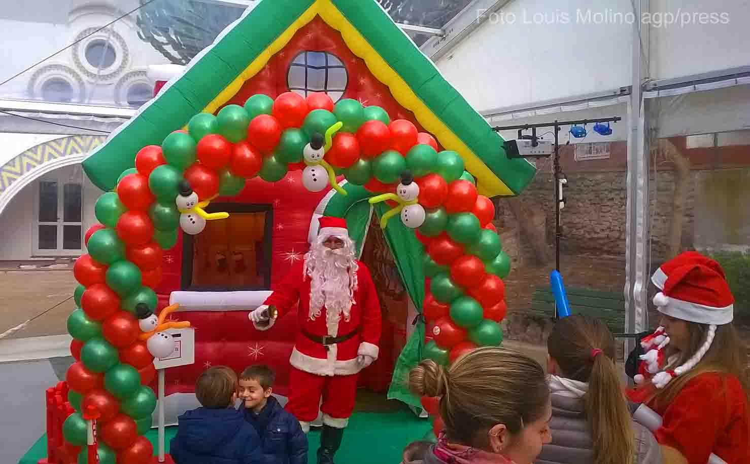 """Natale a Capri:  Mercatini e giochi per bambini nel """"Villaggio Natale"""" (FOTO)"""