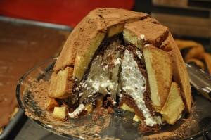 Da Capri lo Zuccotto di Pandoro al Limoncello: recuperare gli avanzi con gusto!