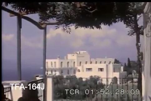 capri riprese video 1950