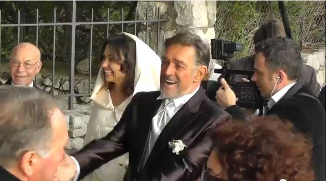 Vip a Capri: L'attore Fabio Testi sposo ad Anacapri (Video)