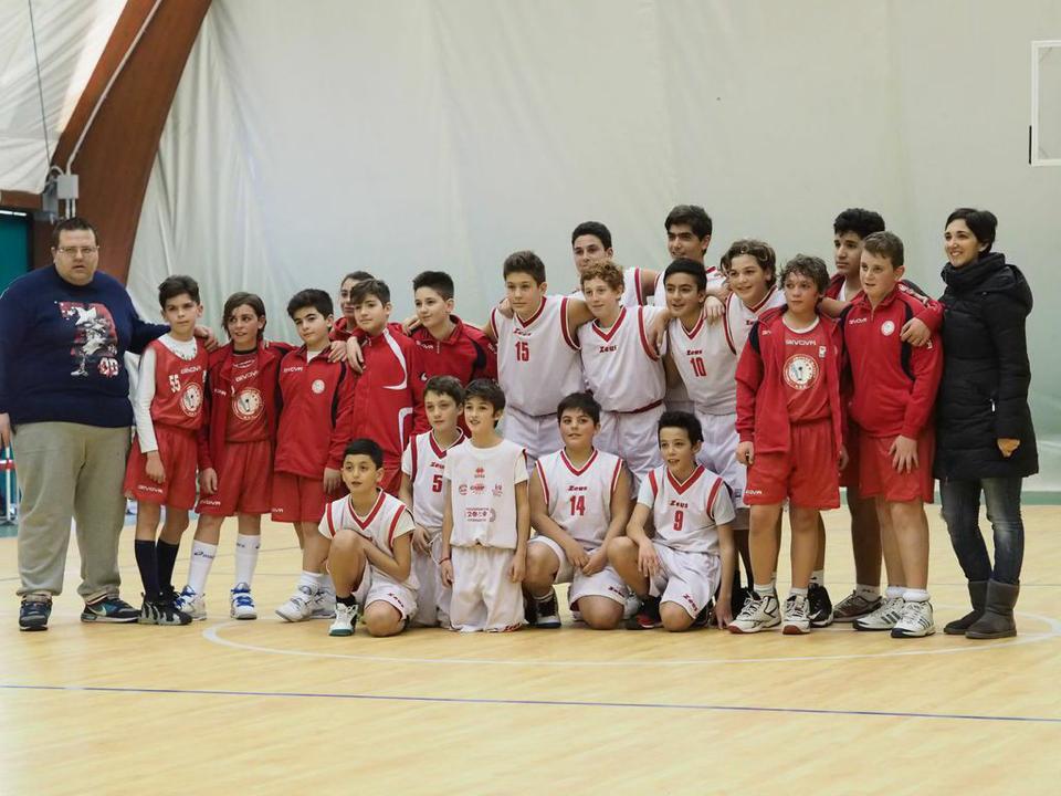 Basket Under13:  Vittoria dei giovani cestisti capresi e gemellaggio a Sant' Antonio Abate