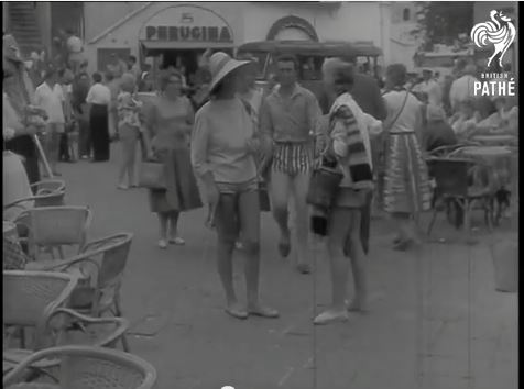 Le Vacanze a Capri nel 1958 – Video inedito archivio British Pathè