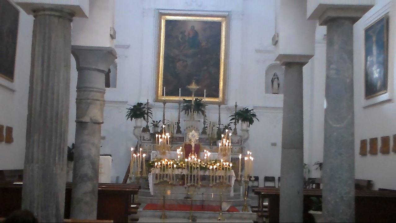 """L'esposizione delle """"Sacre 40 ore"""" nella Chiesa di San Costanzo di Capri  (VIDEO)"""