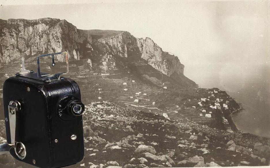 Video inedito di Capri agli inizi del 1900 girato con una cinepresa Pathé Baby