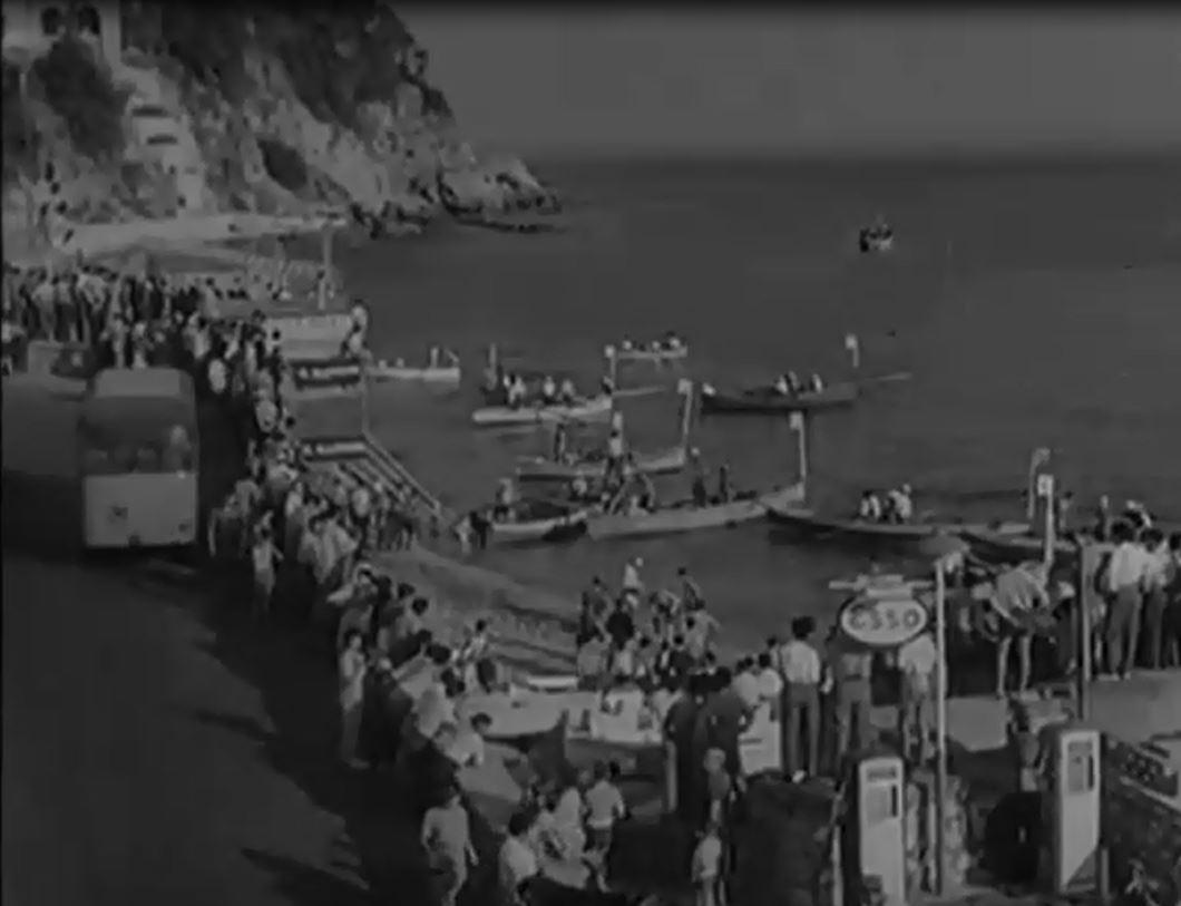 La Capri-Napoli di Nuoto del 1955  (Video inedito)