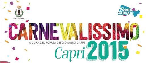 Carnevale a Capri: Il programma della Città di Capri organizzato dal Forum dei Giovani