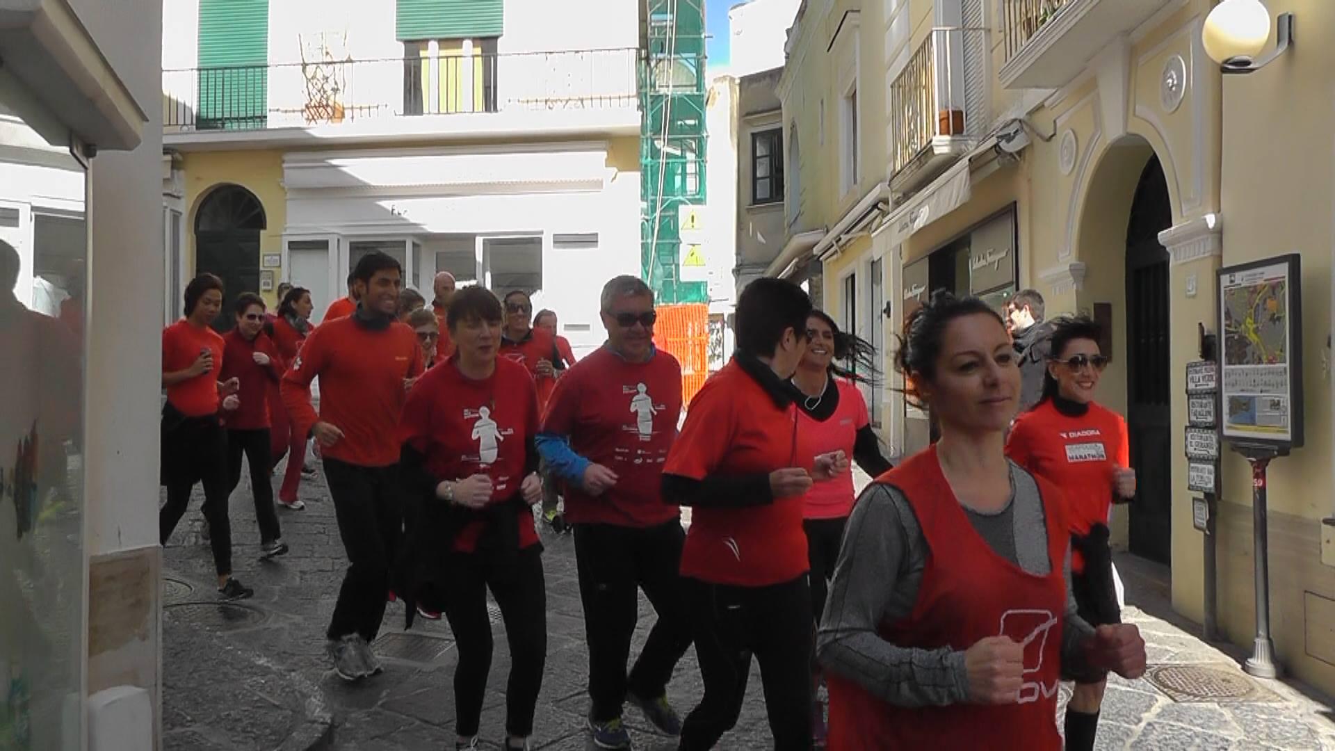 Festa della Donna a Capri: Flash Mob, Maratona e tornei di calcetto contro la violenza (Video e Foto)