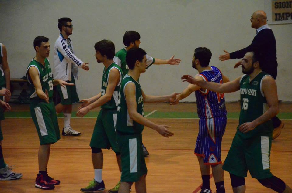 Basket promozione: Olimpia Capri sfiora la vittoria con la capolista Sammaritana