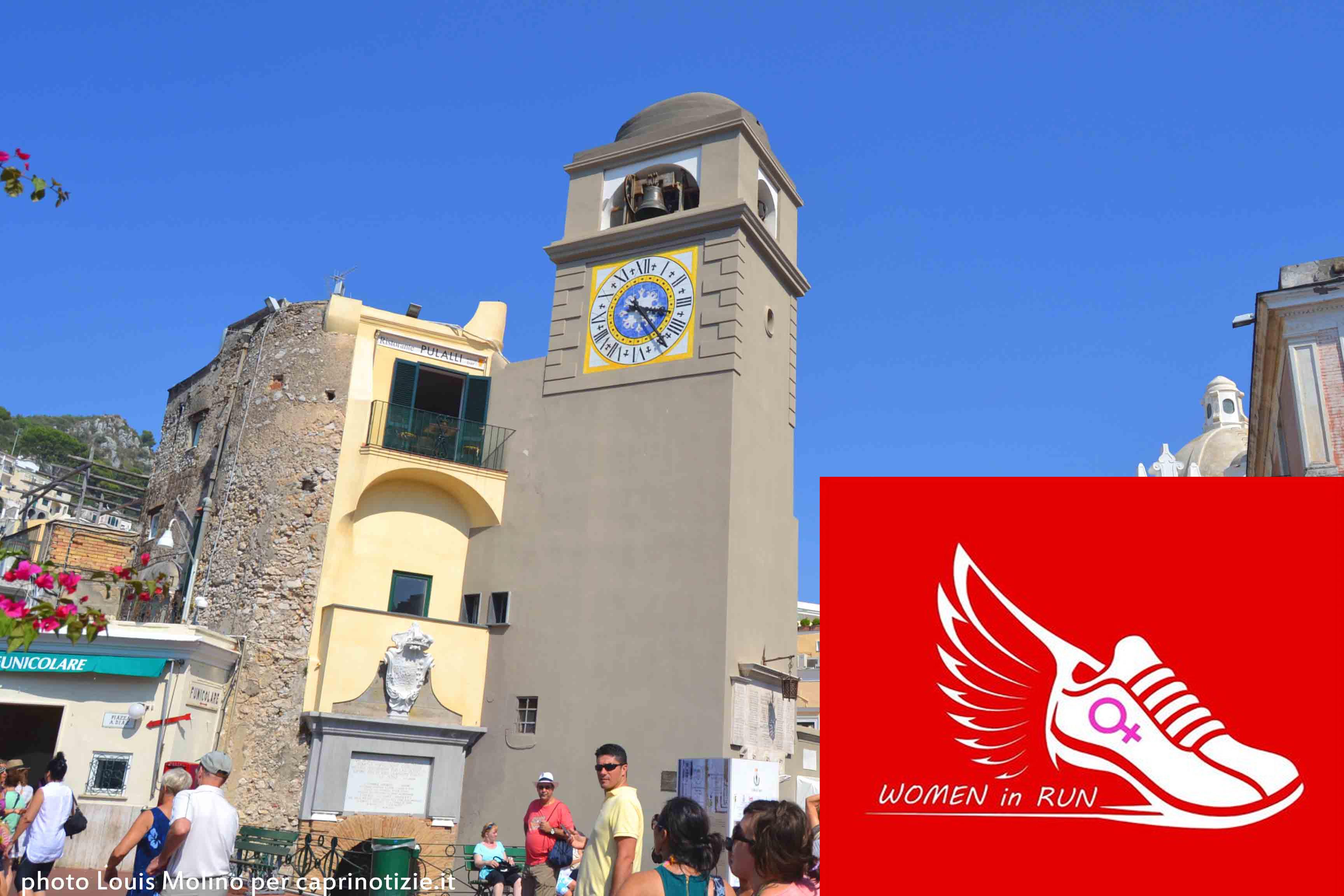 """Anche a Capri il """"Flash mob in corsa""""  8 Marzo in maglietta rossa contro la violenza sulle donne"""