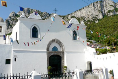 """Recital """"Capri d' e Parole"""" e Presentazione del Salmo di Padre Serafino Cimino alla Chiesa di San Costanzo"""