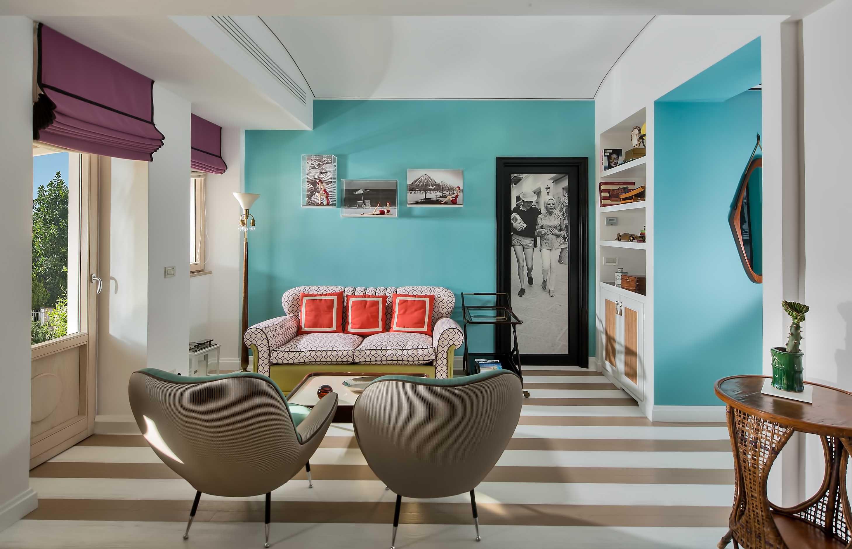 """Riapre il Capri Tiberio Palace il lussuoso """"Boutique Hotel"""" con la nuova Bellevue Suite"""