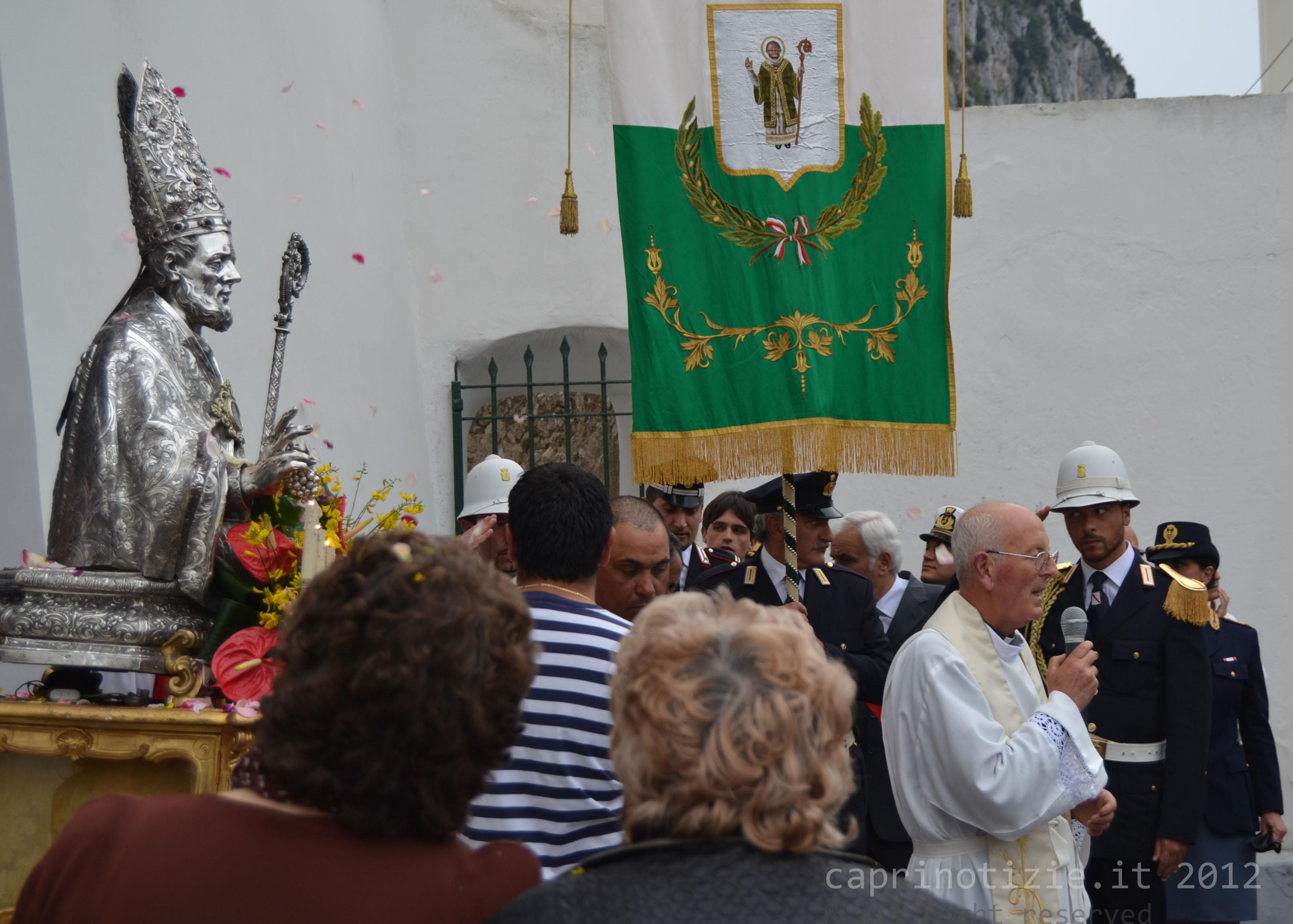San Costanzo 2015: Programma Religioso e orari e percorsi delle processioni del Santo Patrono di Capri
