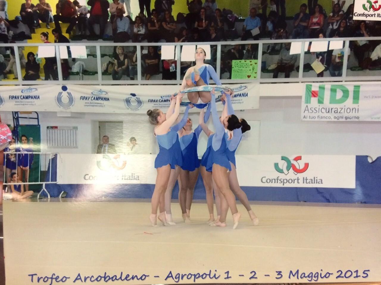 Secondo Posto Nazionale per le giovani ginnaste capresi  della Sirenide (FOTO)