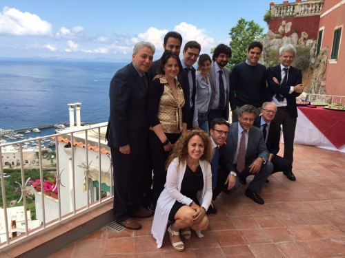 Il team di Banca Mps