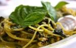 """Linguine Zucchine e fiorilli  o """"Sciurilli"""""""