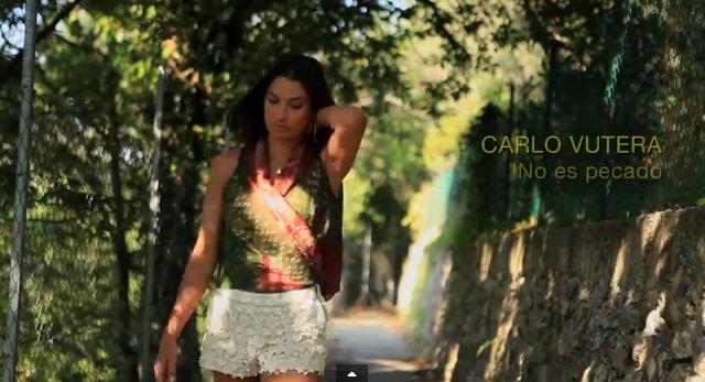 """"""" Carlo Vutera  No es pecado"""" nel video girato a Capri  da Umberto D'Aniello"""