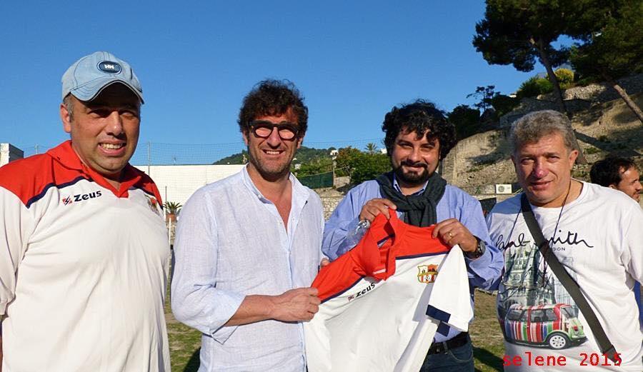 Ciro Ferrara incontra i tesserati dell' Asd Capri Calcio San Costanzo (FOTO)
