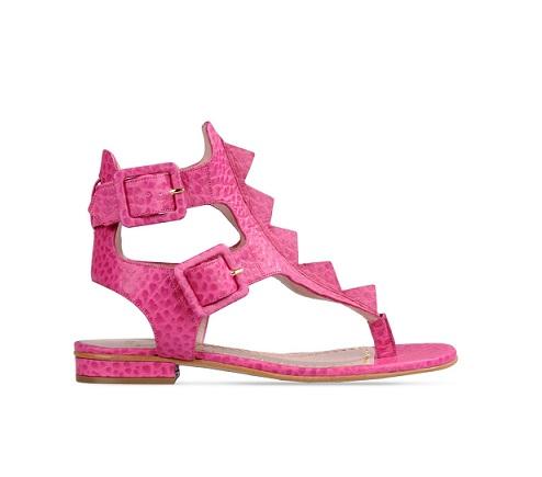 Moda primavera estate 2015, le tendenze: le calzature rosa di Moschino