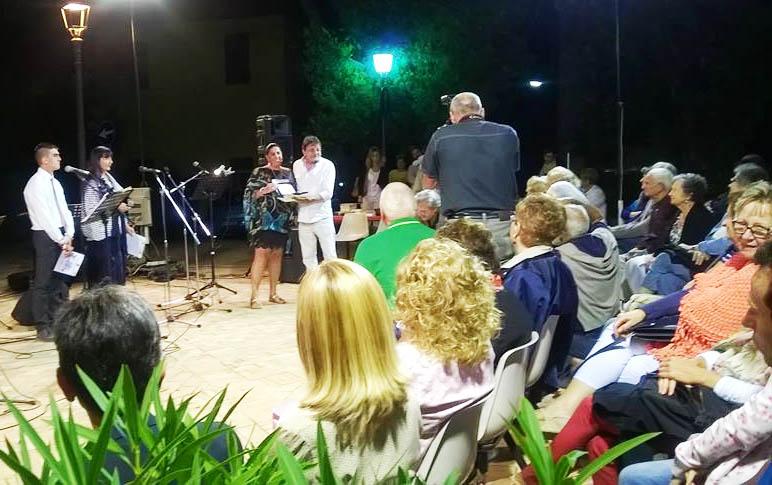 """Menzione Speciale per la scrittrice caprese Annalena Cimino al concorso letterario Poesia nel Borgo"""" – Montignano di Senigallia-"""