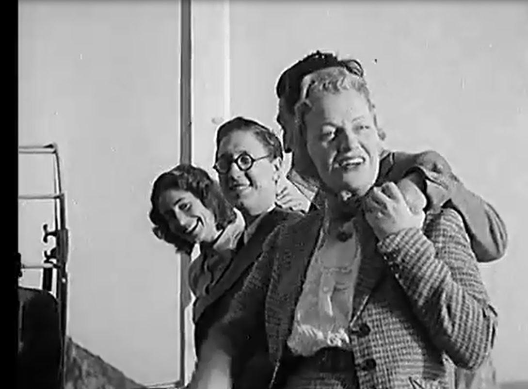 Grace Fields & Capri:  Clips video inedite del 1940 – Archivio Universal Studio-