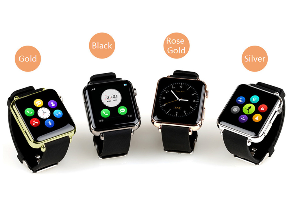 Apple Watch e Samsung Gear S, arrivano i cloni  cinesi da 20 Euro