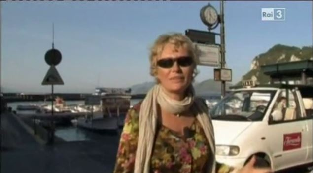 Capri in Tv:  Alle falde del Kilimagiaro Licia Colò nella trasmissione del Luglio 2011