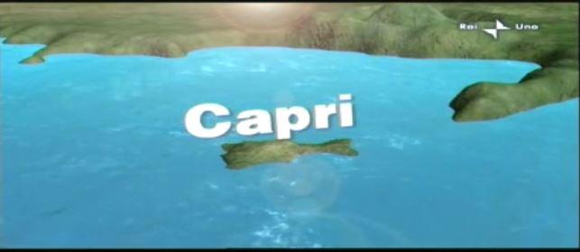 """Capri in Tv:  """"I pescatori e il mare d'inverno""""  da Lineablu di Raiuno del 2009"""
