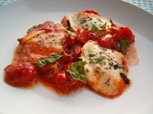 mozzarella pizzaiola