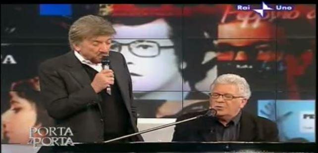 "Capri in Tv: Peppino Di Capri festeggia 50 anni di carriera da Bruno Vespa a ""Porta a Porta"""