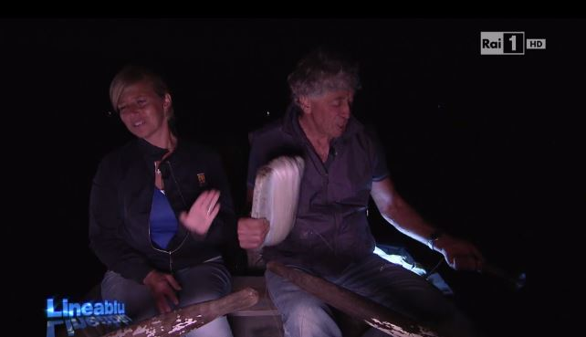 """Capri in Tv: """"La pesca dei calamari a Capri """" in Lineablù di Raiuno"""
