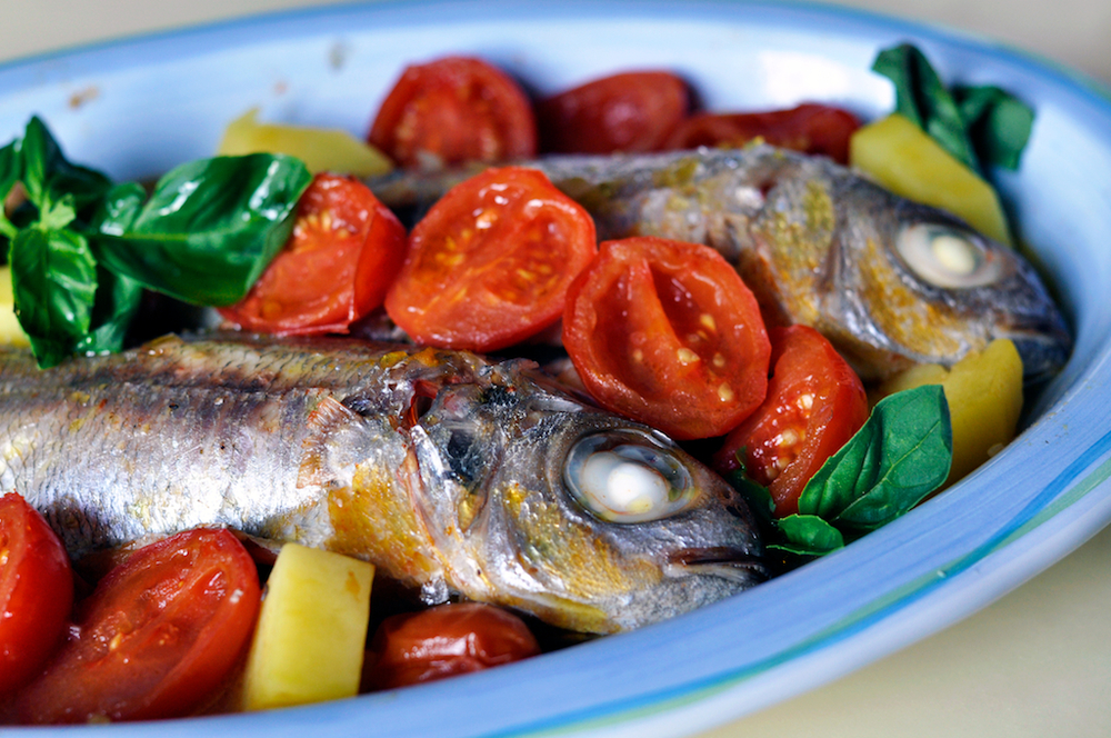 Da Capri la vera ricetta della Pezzogna all'Acqua Pazza