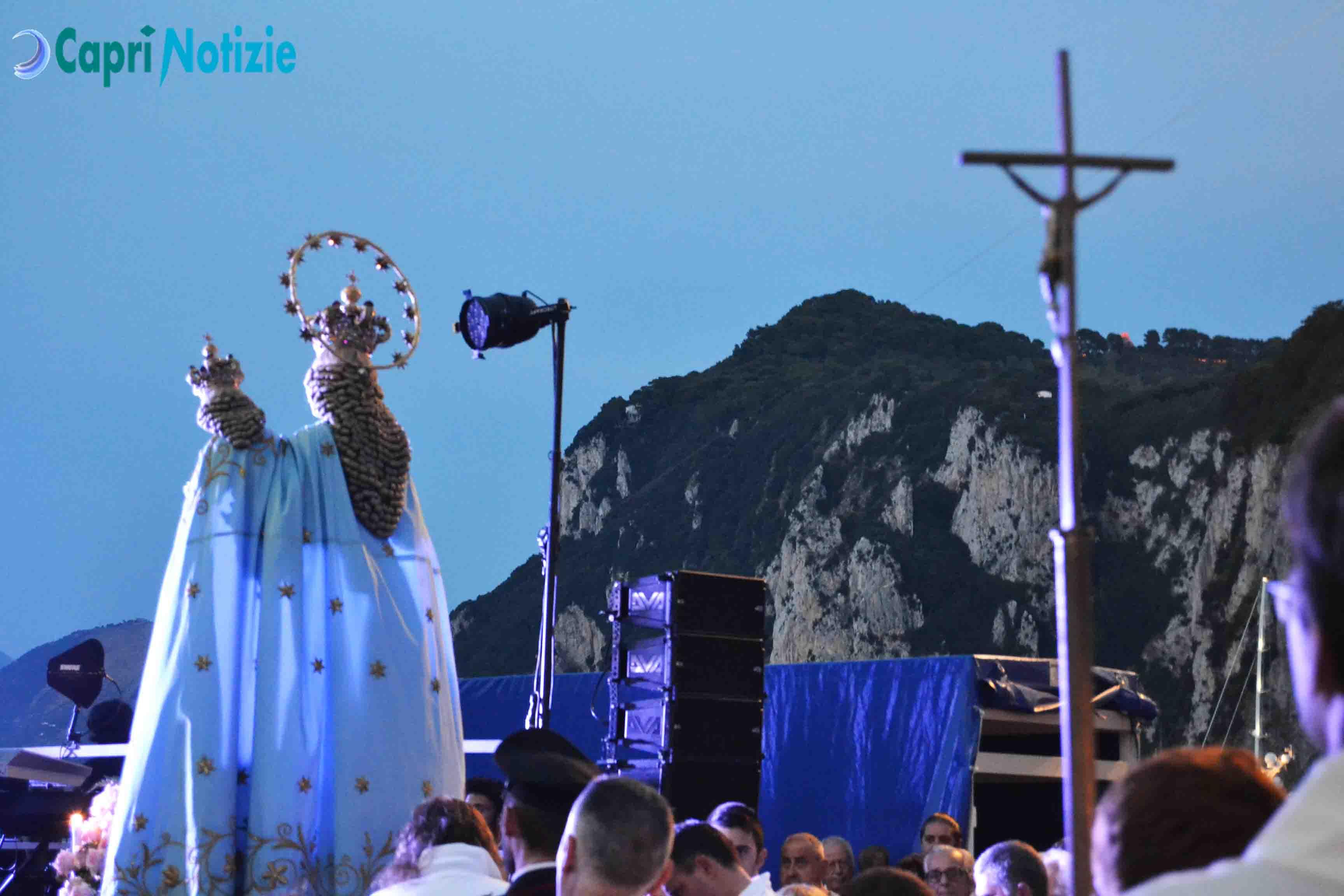 Madonna della Libera: La benedizione del Mare a Marina Grande (VIDEO)