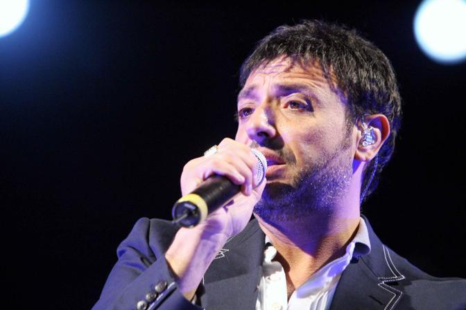 Gigi Finizio e Mariano Bruno alias Pigroman alla Piedigrotta Tiberiana di Capri