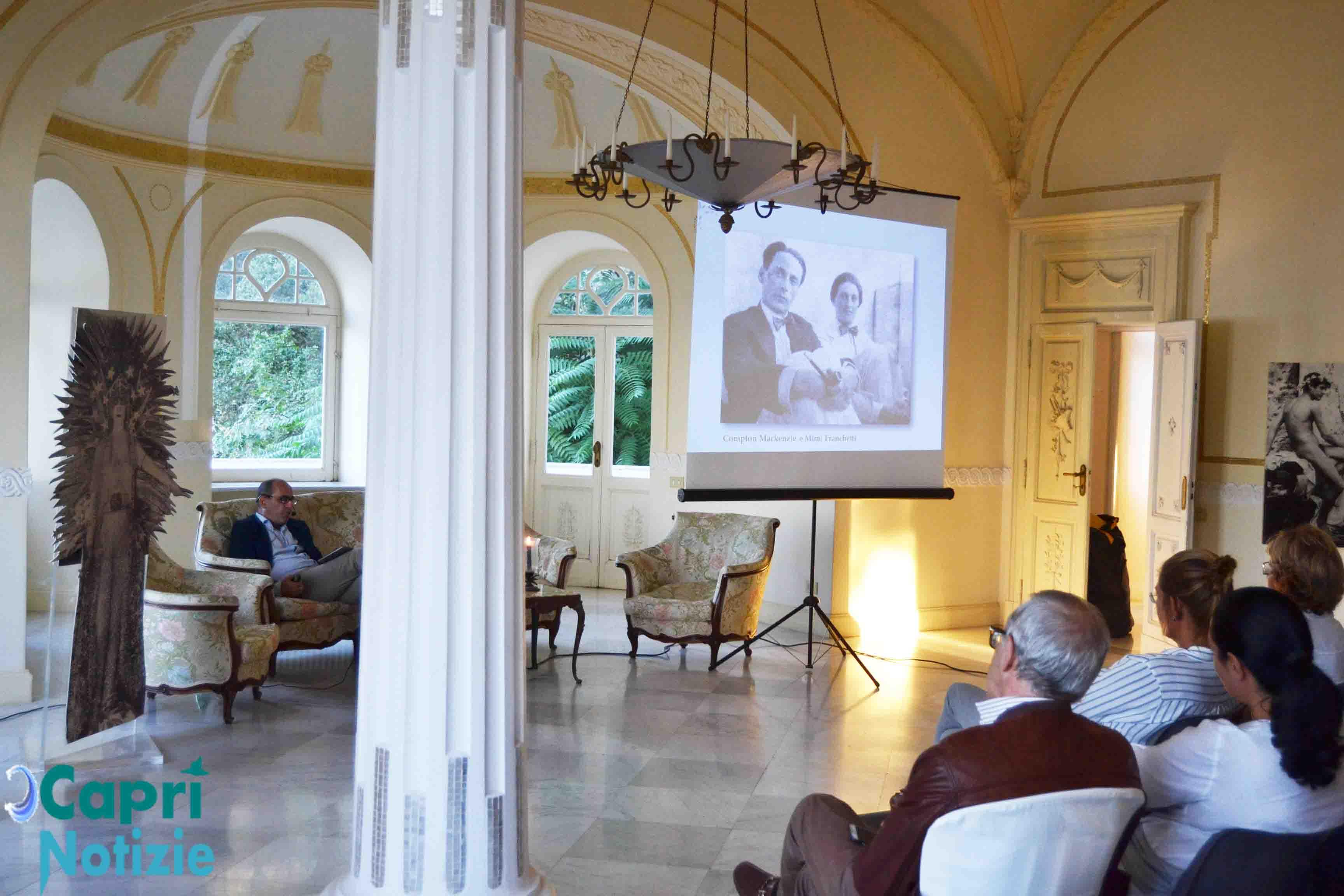 """""""Gli Intighi della Marchesa Casati Stampa"""" nel Video della Conferenza nella Villa Lysis di Capri"""