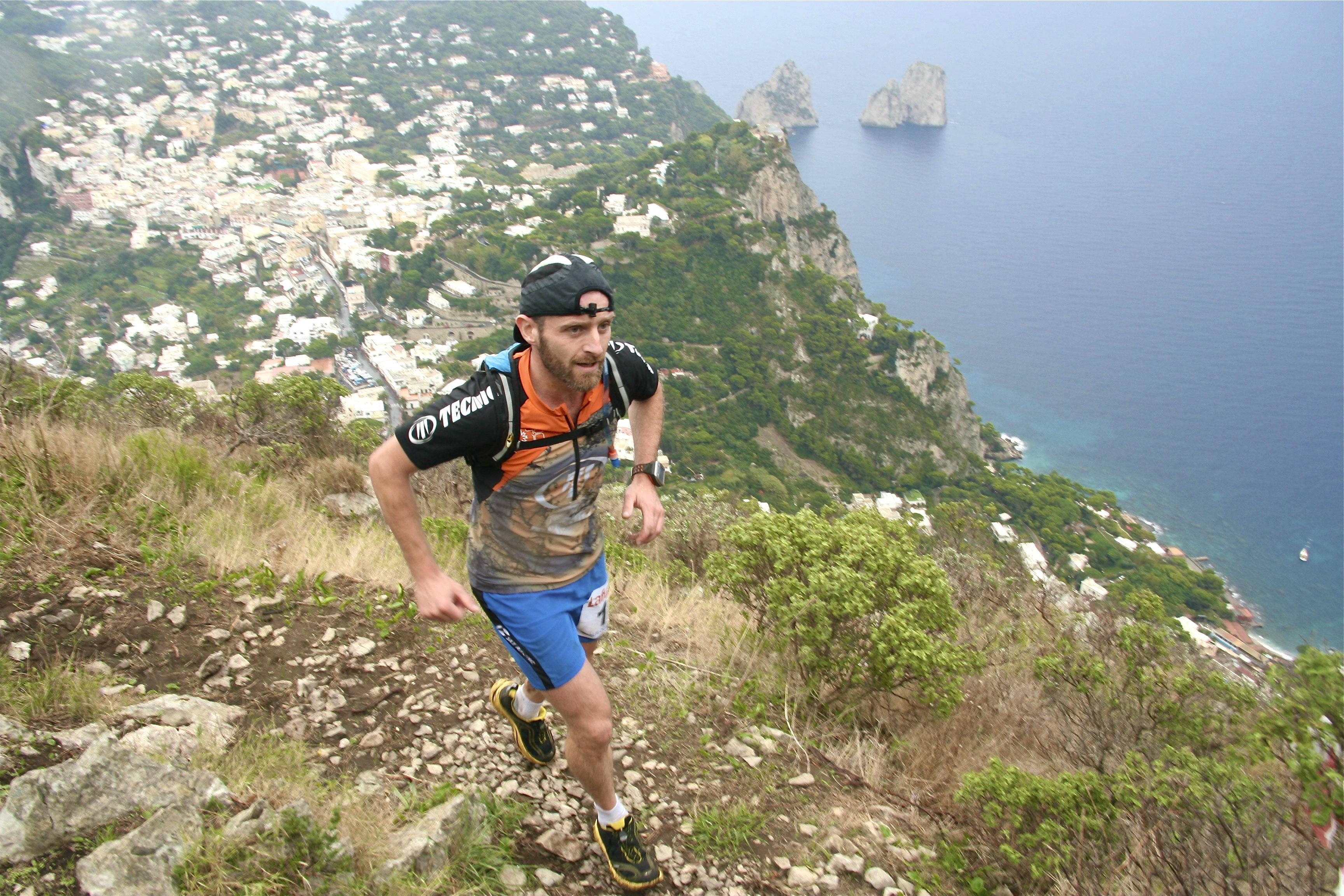Approda a Capri il  5°Amalfi Coast Trail by Mandala Trail