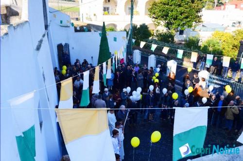 Capri inaugurazione campanile marina grande 1