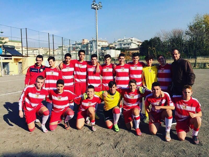 """Calcio:  Grande vittoria per gli """"Allievi dell' A.s.d. San Costanzo 0-9 sul campo di Portici"""
