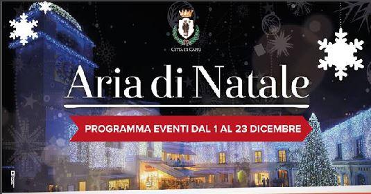 Aria di Natale ! Il programma delle feste della Città di Capri