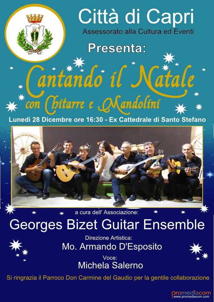 Cantando il Natale con Chitarre e Mandolini, Concerto dei G. Bizet nella Ex. Cattedrale di Santo Stefano