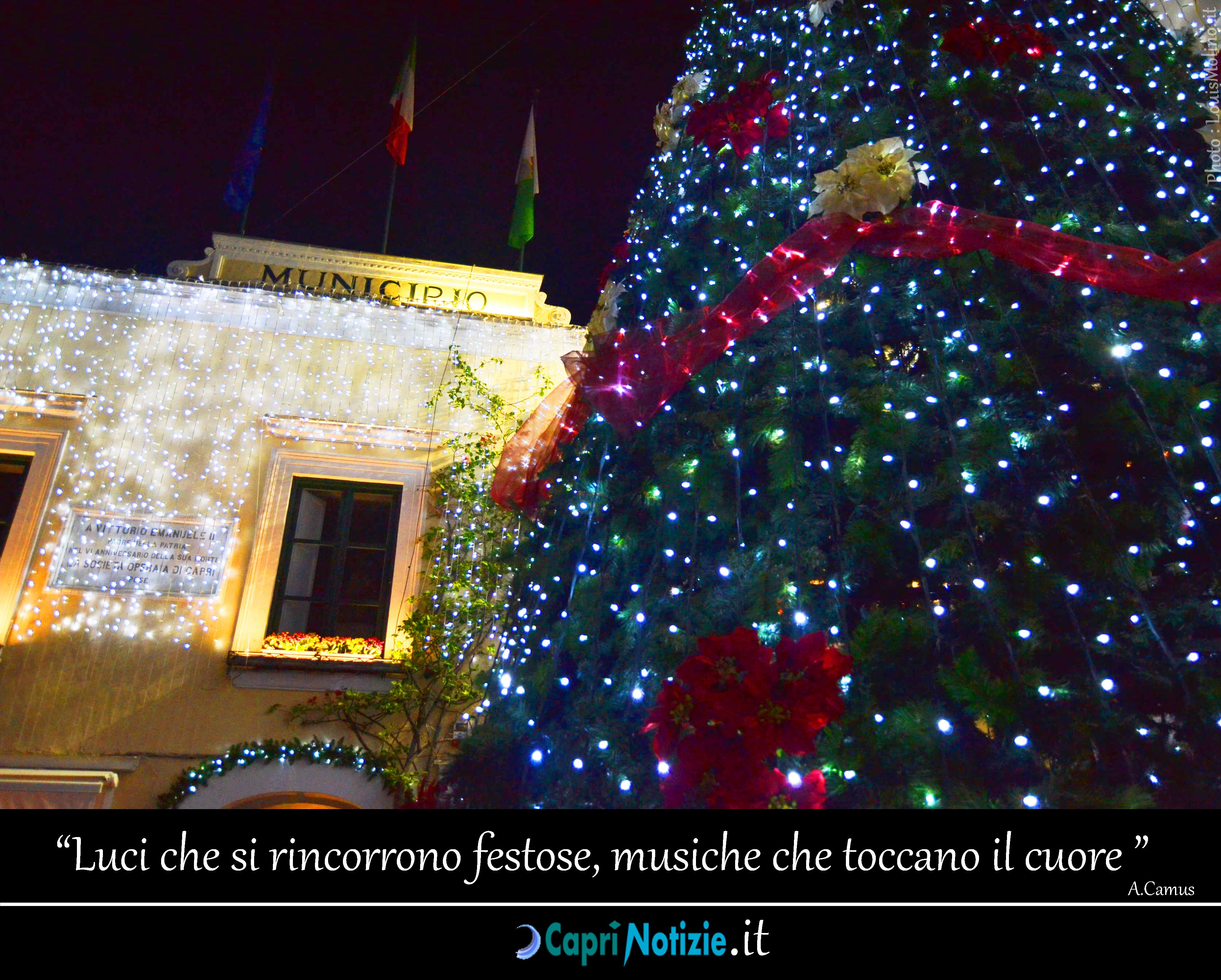 Hotel e Strutture Ricettive aperte durante le Festività di Natale e Capodanno a Capri