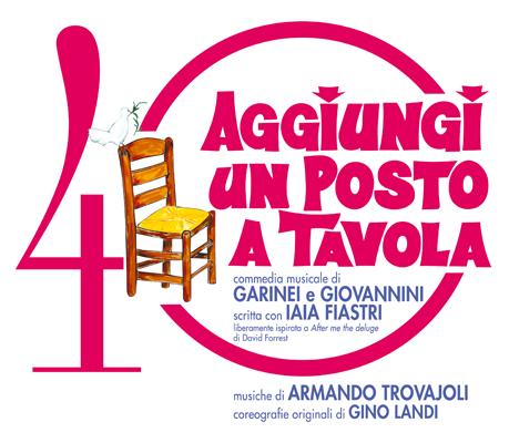 """""""Aggiungi un posto a tavola"""" dal 28 al 31 Gennaio al Teatro delle Palme"""