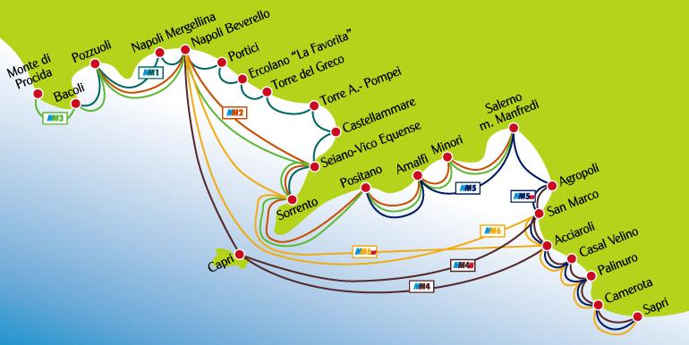 Il nuovo Metrò del Mare, presentati i collegamenti tra Capri, Napoli e Salerno